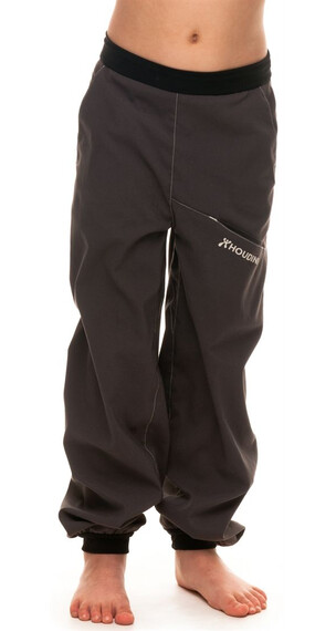 Houdini Kids Liquid Trail Pants Rock Black